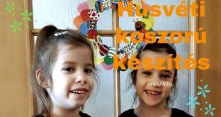 Húsvéti koszorú készítés-Kreatív hobbi [NboM Kreatív Média]