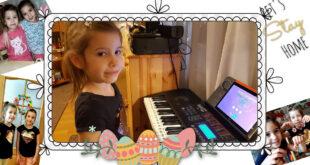 Húsvéti köszöntő: Fanni és Eszter Ikerlányaim zongorajátéka