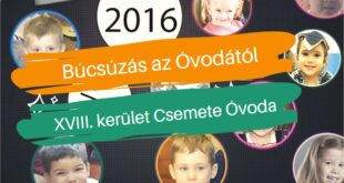 Búcsúzás az Óvodától-Irány az Iskola, az-az iskolakezdés új szabályai