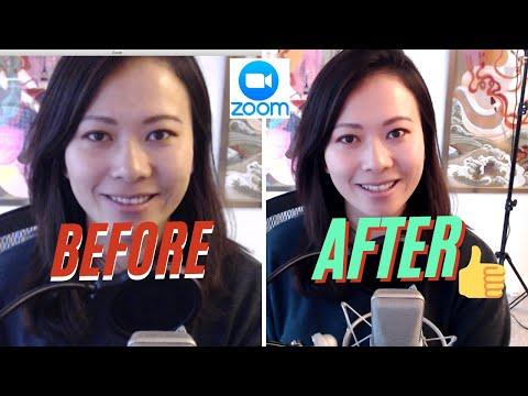 Zoom arc javító előtte és utána