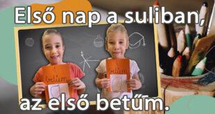 Brassó Utcai Általános Iskola-Első nap a suliban, az első betűm