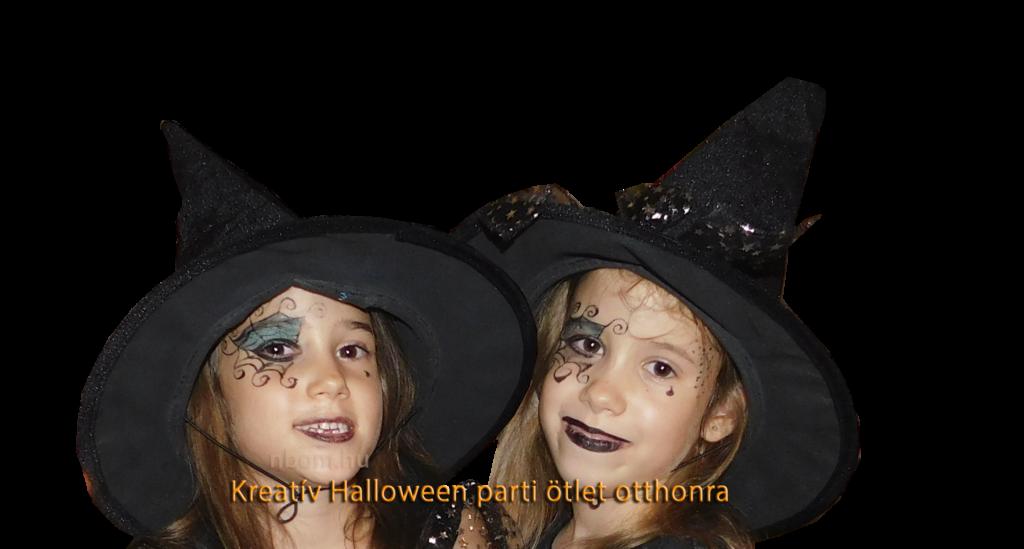 Kreatív Halloween parti ötlet otthonra