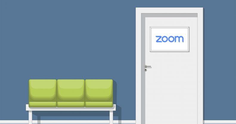 Zoom váróterem funkció