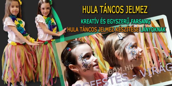 Hula táncos jelmez készítése kreatívan és egyszerűen